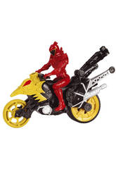 Power Rangers Moto Transformacion Dino Super Charge