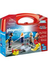 Playmobil Valigetta Grande Pompieri