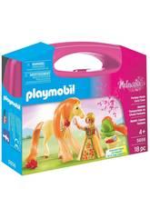 Playmobil Valisette Princesse avec Cheval