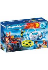 Playmobil Zone de Combat avec Robots 6831