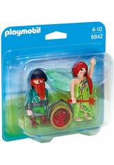 Playmobil Duo Pack Gnomo e Fatina 6842