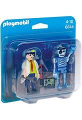 Playmobil DuoPack Inventeur et Robot 6844