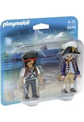 Playmobil Duopack Pirata e Corsaro 6846