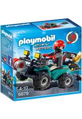 Playmobil Thief com Quad e Booty 6879