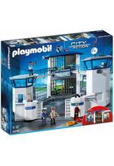 Delegacia de Polícia de Playmobil com Prisão 6919