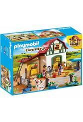 Playmobil granja de ponis