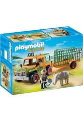 Playmobil Jeep con Rimorchio con Elefante 6937