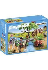 Playmobil Paseo de Ponis en el Campo 6947