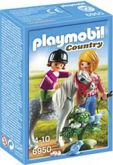 Playmobil Paseo con Poni 6950