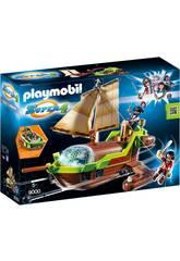 Playmobil Super 4 Camaleonte-pirata con Ruby 9000