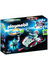 Playmobil Skyjet Avec Dr. X et Robot 9003