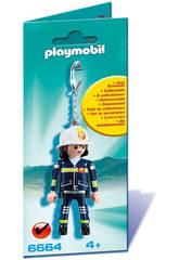 Playmobil Porte-Clés Pompier