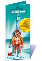 Playmobil Porte-Clés Secouriste