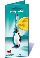 Playmobil Llavero de Pingüino