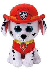 Peluche Patrouille Canine Marshall 15 cm. Ty 41211