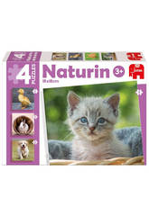 Puzzle Infantil Educativo Naturin Foto Animals