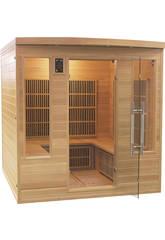 Sauna Infrarrojos Apollon Club - 4/5 Plazas Poolstar SN-APOLLON-4S