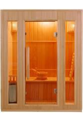 Sauna Tradizionale ZEN-3,5 kW-3 Persone
