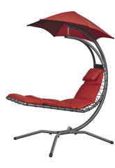 Transat Suspendu Nest Move - Couleur Rouge