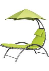 Tumbona Suspendida Nest Lounge- Color Verde