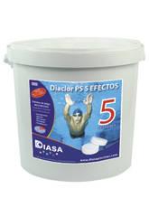 Chlore Diaclor Multiaction PS 5 Effets 5Kg