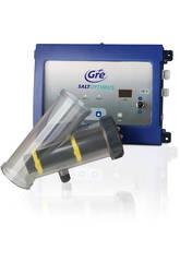 Chlorinateur par électrolyse Gre Salt Optimus pour piscines jusqu'à 100.000 L