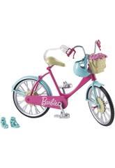 Barbie Bicicleta con Cesta de Flores Mattel DVX55