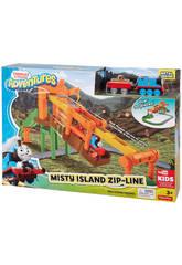 Thomas & Friends Tirolina en la Isla de la Niebla Mattel FBC60