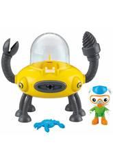 Les Octonauts Véhicule et Figurine Mattel T7017