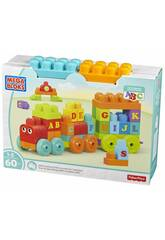 Megabloks Le Train d'Apprentissage