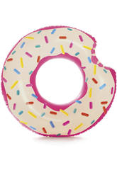 Rueda Hinchable con Forma de Donut Intex 59265