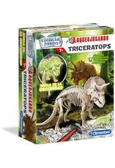 Arqueojugando Tricératops Fluorescent