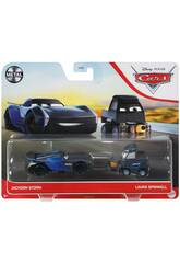 Cars 3 Pack 2 Carros Mattel DXV99