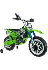 Moto Batería Kawasaki 6V. Injusa 6775