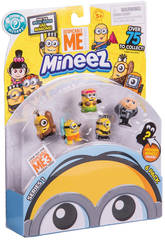 Figurines Minions Pack 6 Unités Giochi Preziosi DEP01002