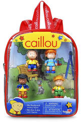 Caillou Mini Zainetto con 5 figure