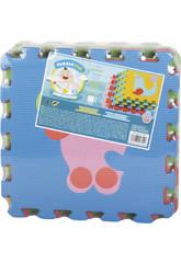 Tappeto Puzzle Colorato 9 pezzi