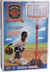 Panier Basket Avec Pompe et Ballon
