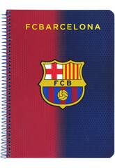 Cahier Couverture Rigide 80 pages F.C. Barcelona Officiel