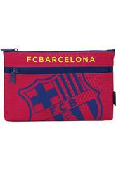 Trousse Deux Compartiments F.C. Barcelona Officiel