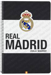 Cahier Couvertures Rigides 80 pages Real Madrid Officiel