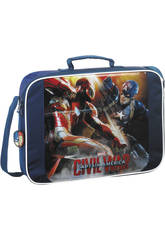 Cartera Extraescolares Capitan America Civil War