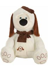 Plüsch Hund Samtkappe 110 cm Llopis