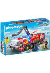 Playmobil Camion Bomberos Aeropuerto