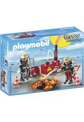 Playmobil Equipo de Bomberos 5397