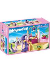 Playmobil Écurie avec Cheval à Coiffer et Princesse