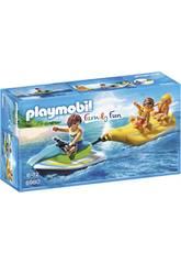 Playmobil Vacanciers avec Scooter des Mers et Banane 6980