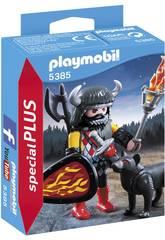 Playmobil Krieger Wolf 5385