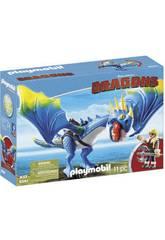 Playmobil Dragons Astrid et Tempête 9247
