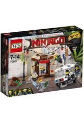 Lego Ninjago La poursuite dans la Ville